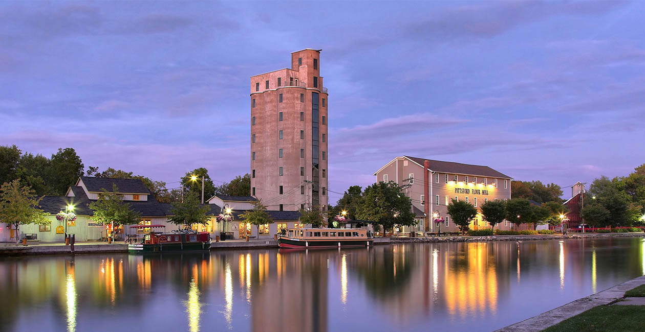 The Grain Tower & The Flour Mill at Schoen Place - Pittsford Office Space